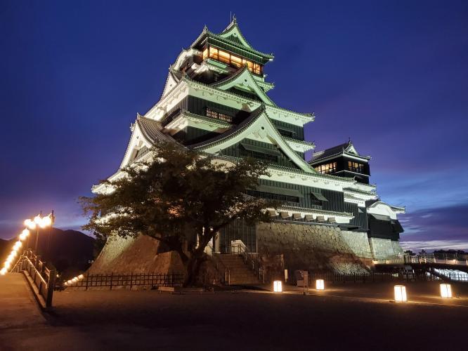 熊本城おもてなし武将隊夕涼みツアーの口コミ・写真