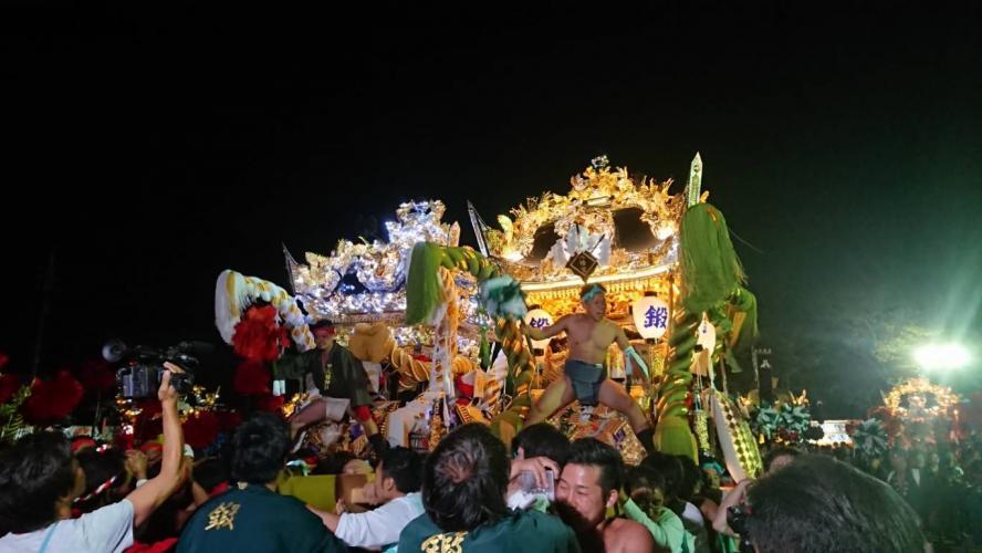 甲八幡神社 秋祭り(甲山の屋台練り)の口コミ・写真