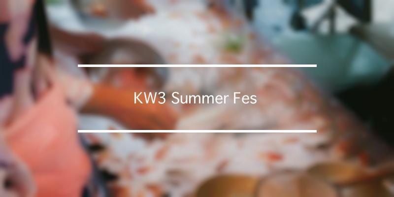 KW3 Summer Fes  2019年 [祭の日]