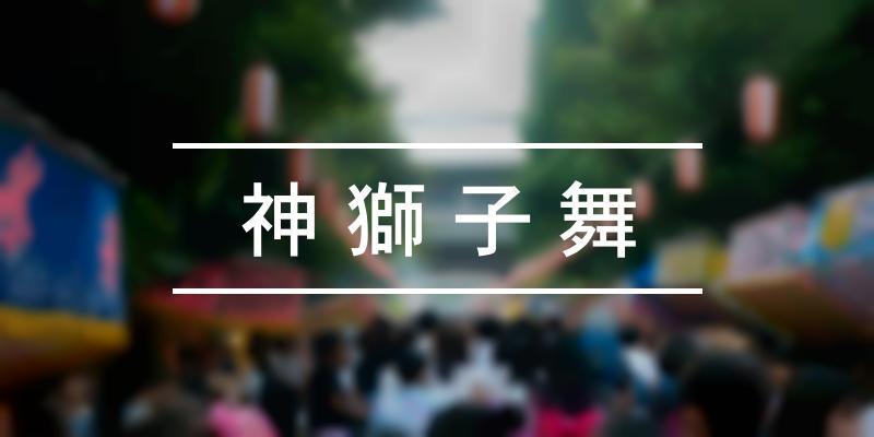 神獅子舞 2019年 [祭の日]