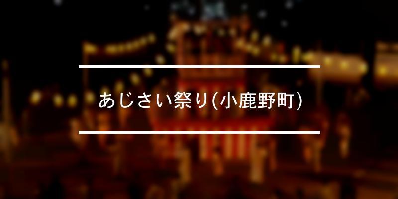 あじさい祭り(小鹿野町) 2020年 [祭の日]