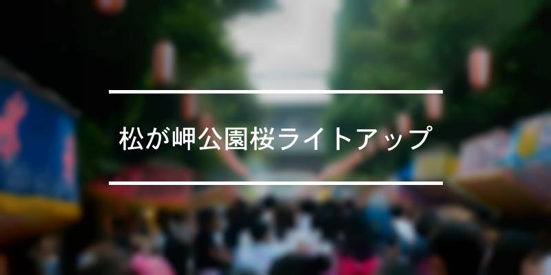 松が岬公園桜ライトアップ 2020年 [祭の日]
