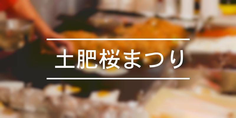 土肥桜まつり 2020年 [祭の日]