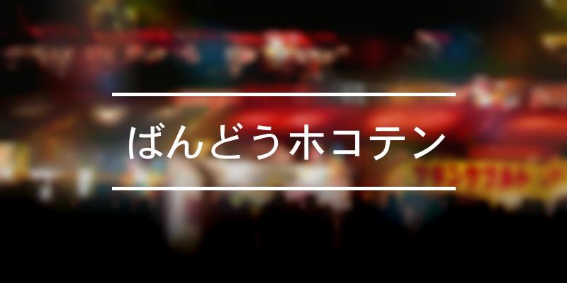 ばんどうホコテン 2020年 [祭の日]