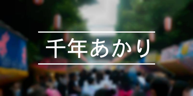 千年あかり 2019年 [祭の日]