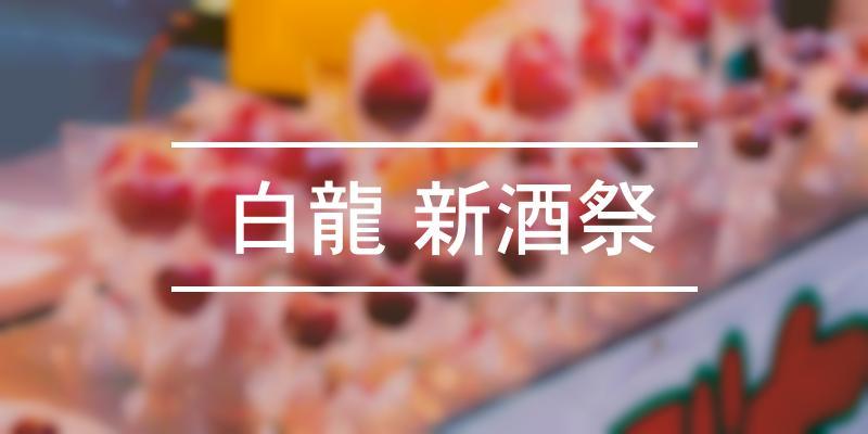 白龍 新酒祭 2020年 [祭の日]