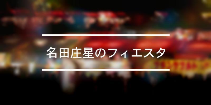 名田庄星のフィエスタ 2020年 [祭の日]
