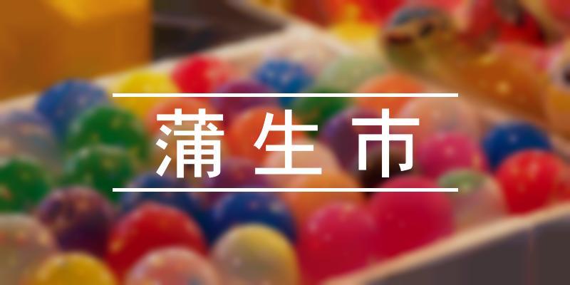 蒲生市 2019年 [祭の日]