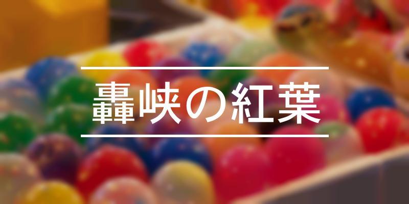 轟峡の紅葉 2019年 [祭の日]