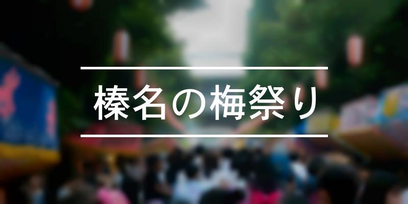 榛名の梅祭り 2020年 [祭の日]
