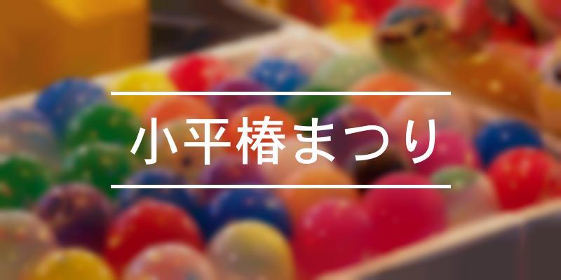 小平椿まつり 2020年 [祭の日]