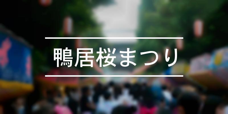 鴨居桜まつり 2020年 [祭の日]