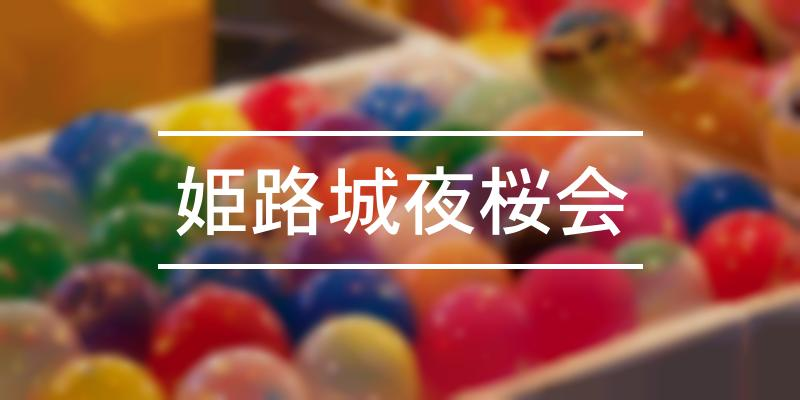 姫路城夜桜会 2021年 [祭の日]