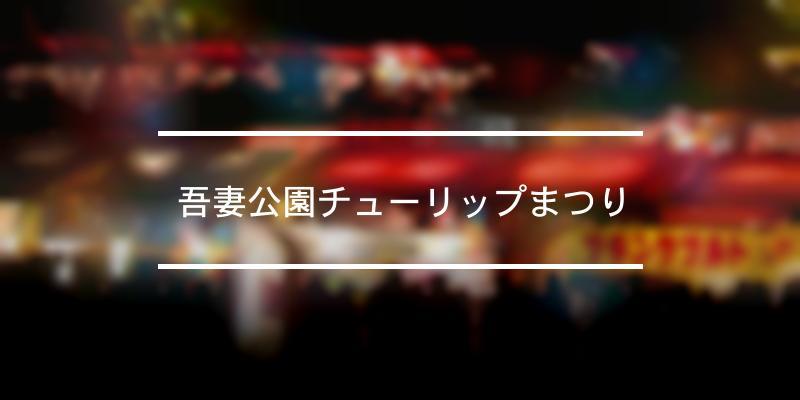 吾妻公園チューリップまつり 2020年 [祭の日]