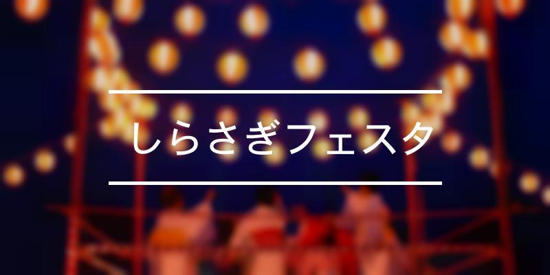 しらさぎフェスタ 2021年 [祭の日]