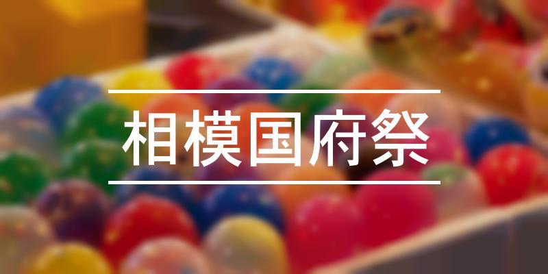 相模国府祭 2020年 [祭の日]