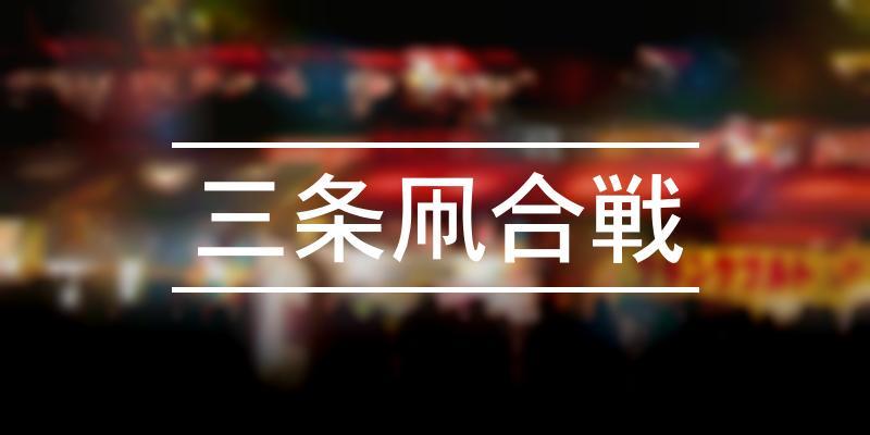 三条凧合戦 2020年 [祭の日]