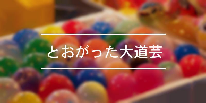 とおがった大道芸 2021年 [祭の日]