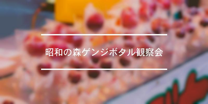 昭和の森ゲンジボタル観察会 2021年 [祭の日]