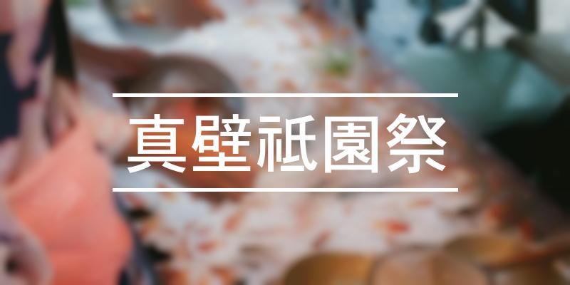 真壁祗園祭 2021年 [祭の日]