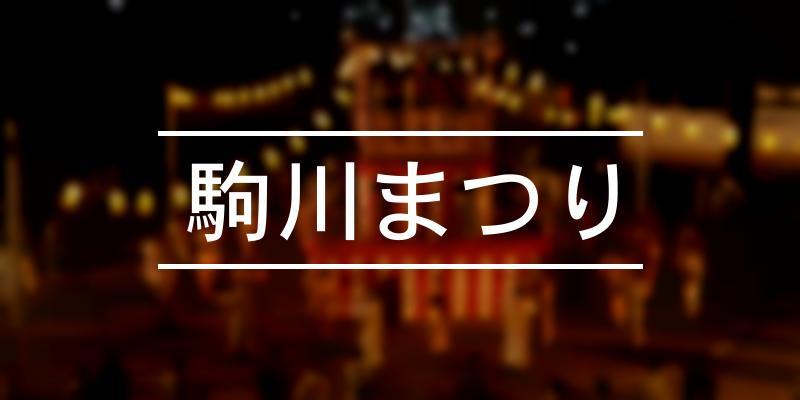 駒川まつり 2021年 [祭の日]