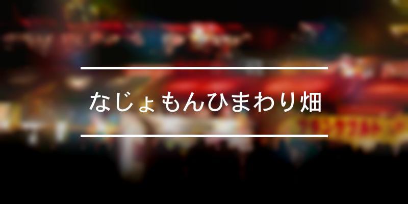 なじょもんひまわり畑 2021年 [祭の日]