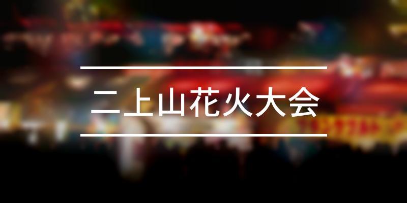 二上山花火大会 2020年 [祭の日]