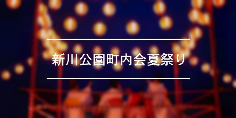 新川公園町内会夏祭り 2021年 [祭の日]