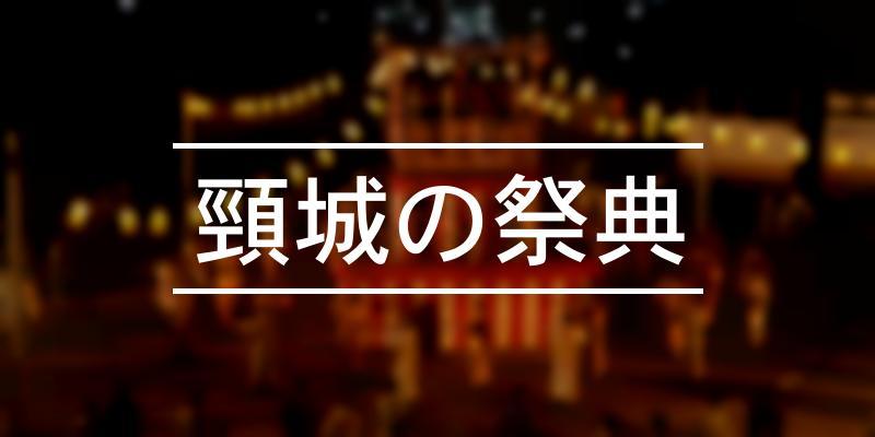 頸城の祭典 2020年 [祭の日]