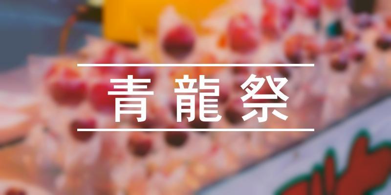 青龍祭 2021年 [祭の日]