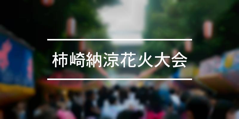 柿崎納涼花火大会 2020年 [祭の日]