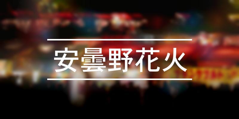 安曇野花火 2021年 [祭の日]