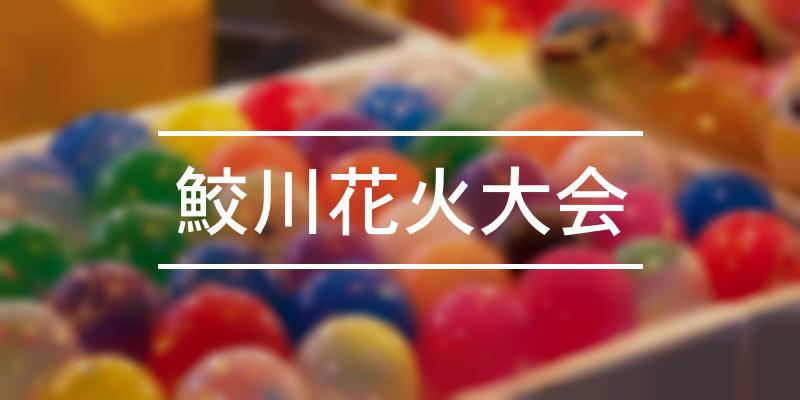 鮫川花火大会 2021年 [祭の日]