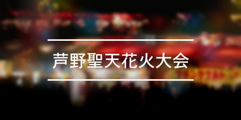 芦野聖天花火大会 2021年 [祭の日]