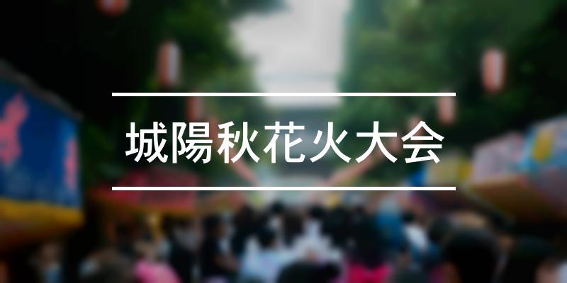 城陽秋花火大会 2020年 [祭の日]