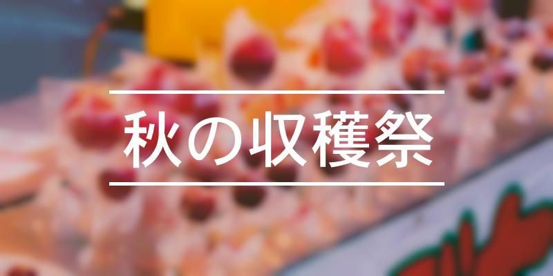 秋の収穫祭 2021年 [祭の日]