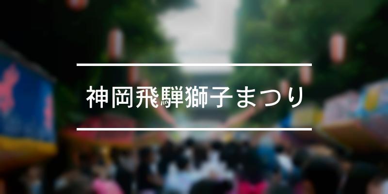 神岡飛騨獅子まつり 2020年 [祭の日]