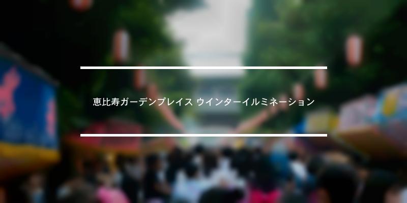 恵比寿ガーデンプレイス ウインターイルミネーション 2020年 [祭の日]