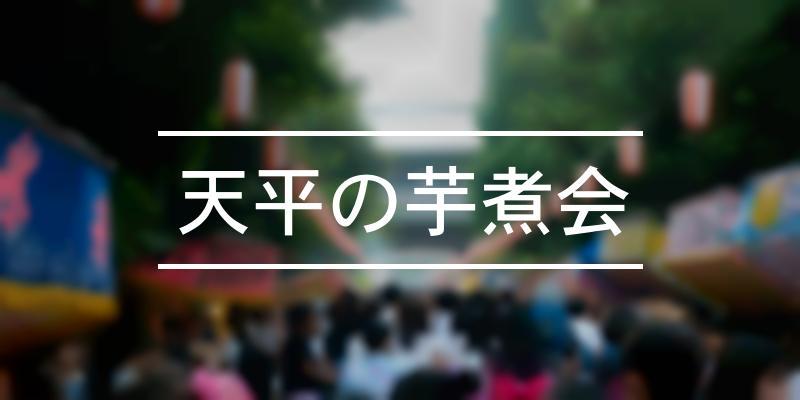 天平の芋煮会 2021年 [祭の日]