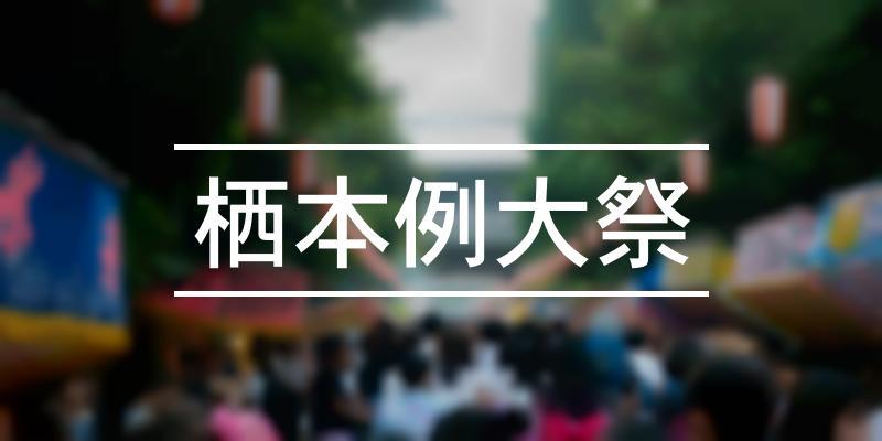 栖本例大祭 2020年 [祭の日]
