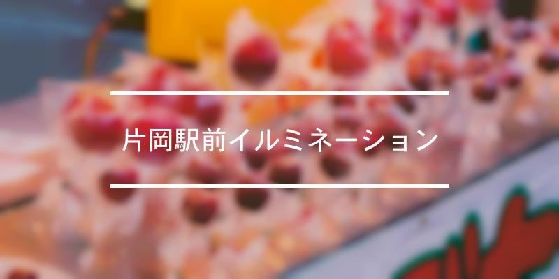片岡駅前イルミネーション 2020年 [祭の日]
