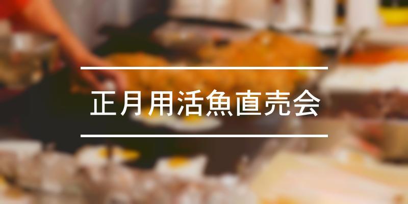 正月用活魚直売会 2020年 [祭の日]
