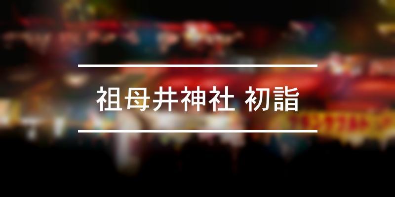 祖母井神社 初詣 2021年 [祭の日]