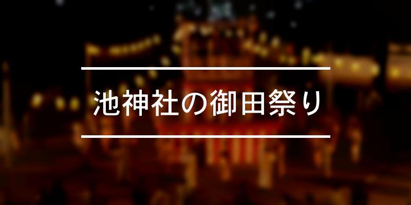 池神社の御田祭り 2021年 [祭の日]