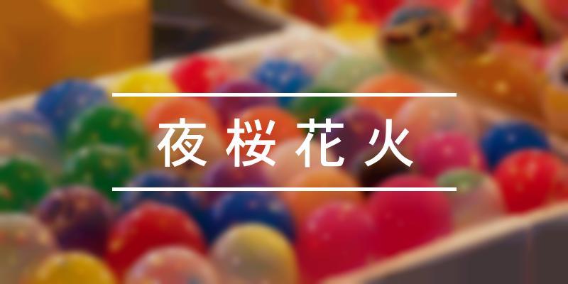 夜桜花火 2021年 [祭の日]