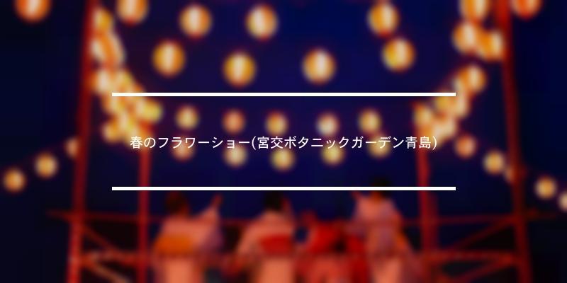 春のフラワーショー(宮交ボタニックガーデン青島) 2021年 [祭の日]