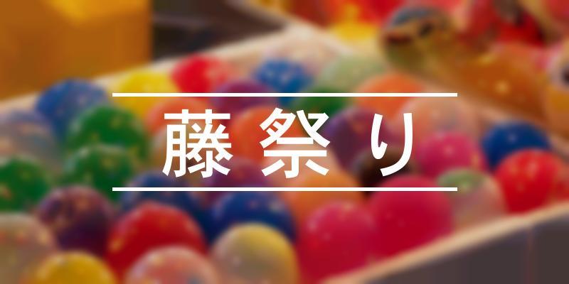 藤祭り 2021年 [祭の日]