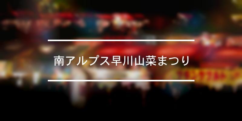 南アルプス早川山菜まつり 2021年 [祭の日]