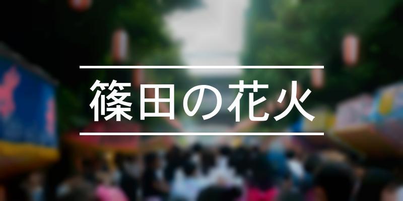 篠田の花火 2021年 [祭の日]
