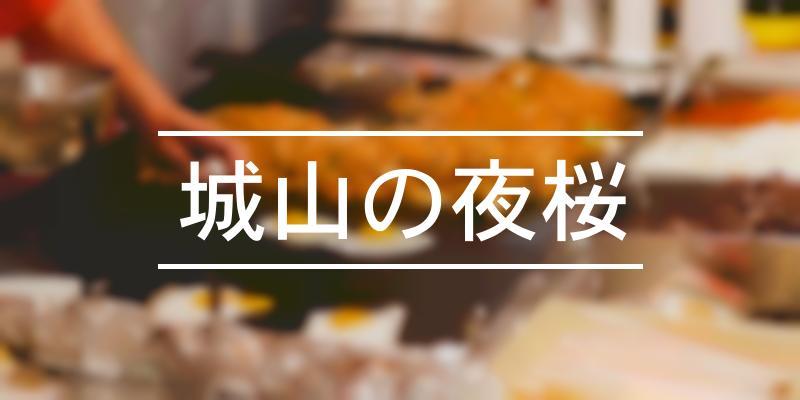 城山の夜桜 2021年 [祭の日]